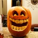 jack o' lantern smile