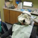 storm trooper dental patient
