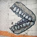 denture graffiti