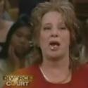 courtroom denture drama