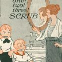 one, two, three, scrub!
