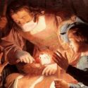 "gerard van honthorst's ""the dentist"""